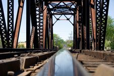 Free Rail Bridge Stock Photo - 2642040