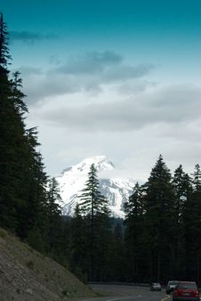 MT. Hood Royalty Free Stock Images
