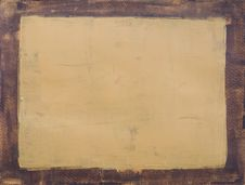 Free Painted Frame Brown And Beige Royalty Free Stock Images - 2643469