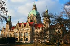 Free Hannover City Hall Stock Photography - 2643982