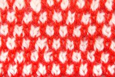 Pattern From A Wool Stock Image