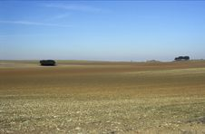 Plain Of Albacete 1 Royalty Free Stock Photography