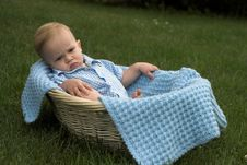 Free Basket Baby Royalty Free Stock Photos - 2646288