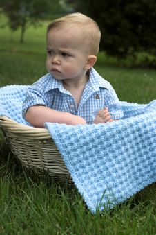 Free Basket Baby Royalty Free Stock Photo - 2646295