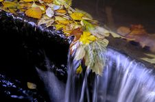 Free Autumn Waterfall Stock Images - 2647294
