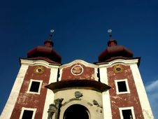 Free Baroque Church In Calvary Royalty Free Stock Photo - 2647305