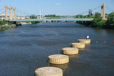 Free Downtown Waterway Royalty Free Stock Photos - 2647888