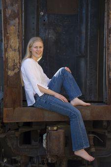 Free Pretty Blond Teenage Girl Royalty Free Stock Photos - 2647938