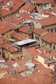 Free Old Italian Rooftops Royalty Free Stock Image - 2648046