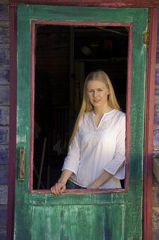 Free Pretty Blonde Woman Stock Image - 2648071