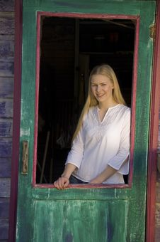 Free Pretty Blonde Woman Royalty Free Stock Photo - 2648075
