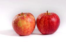 Free Fresh Couple Apple Royalty Free Stock Photos - 2648428