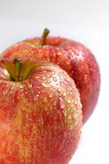 Fresh Couple Apple Stock Photos