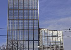 Free Paris Modern Buildings Royalty Free Stock Image - 2648916