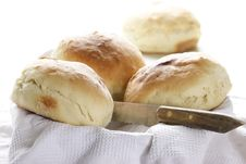 Home-baked Bread Royalty Free Stock Photo