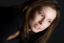Free Attractive Brunette Royalty Free Stock Photography - 2649827