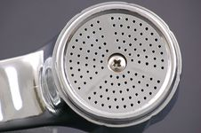 Free Isolated Shower Head Royalty Free Stock Photography - 2649957