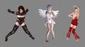 Free Fantasy Digital Characters Stock Photos - 26405133