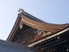 Free Details Of Japanese Roof. Royalty Free Stock Photography - 26400867