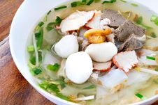 Thai S Style Noodle Royalty Free Stock Photos