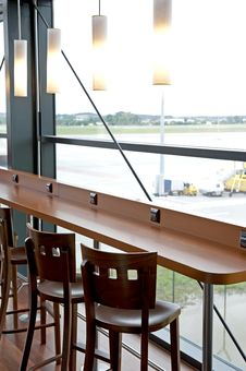 Free Empty Bar Interior Royalty Free Stock Images - 26402639