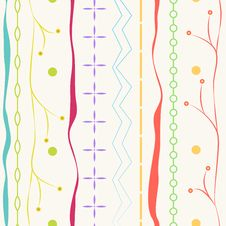 Free Shapes Seamless Pattern Background Stock Photography - 26403162