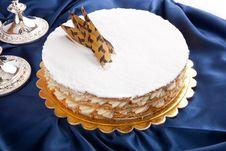 Free White Cake Royalty Free Stock Image - 26405276