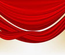 Free Red Silk Stock Photography - 26405922