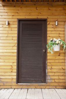 Free Wooden Door Royalty Free Stock Photos - 26407218