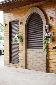 Free Wooden Door Royalty Free Stock Images - 26407249