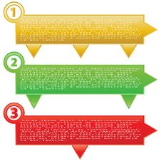 Free Best Choice, Offer And Seller Labels With Ribbon. Royalty Free Stock Image - 26408086