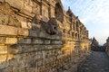 Free Borobudur Temple Corridors Stock Image - 26417361
