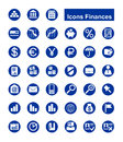 Free Finances Icons Stock Photography - 26419162