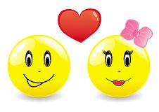Two Fun Smiles Royalty Free Stock Photo