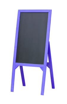 Free Blank Menu Chalkboard In Wooden Frame Royalty Free Stock Photo - 26414885