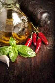 Free Italian Seasoning Royalty Free Stock Photos - 26416278