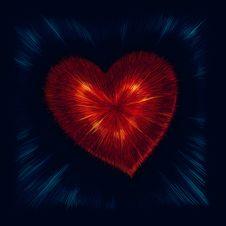 Free Valentine Heart Royalty Free Stock Image - 26416436