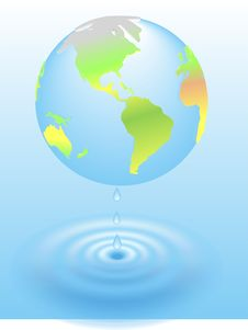 Free 3d Global Warming Global Planet Earth Royalty Free Stock Images - 26416509