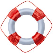 Free Lifebuoy As Life Saving Equipment Royalty Free Stock Photography - 26418947