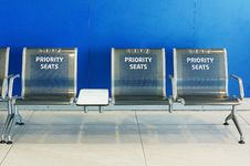 Free Priority Seats Stock Images - 26419484