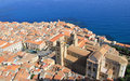 Free Cefalu Cathedral And Town From Above Stock Photography - 26423742