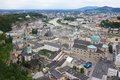 Free Salzach River And The City Of Salzburg, Austria Stock Image - 26425531