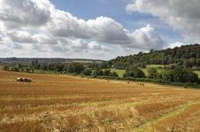 An English Rural Landscape In The Chiltern Hills Stock Photos