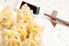 Steamed Dumplings Stock Image