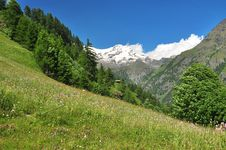 Free Monte Rosa, Aosta Valley, Italy Stock Image - 26426291