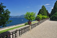 Free Borromeo Botanical Gardens, Isola Bella Stock Photo - 26427100