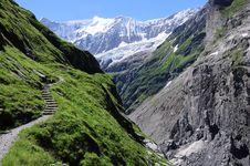 Free Path To Glacier. Stock Photo - 26429080