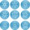 Free Set Of Snowflakes Stock Images - 26421024