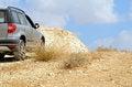 Free Car In Desert Royalty Free Stock Image - 26439746