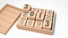 Free 2013 On Cubes Stock Photo - 26432850